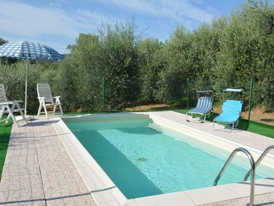 Photo for One Bedroom Ground Floor Apartment San Gimignano   La Pergola is a charming apartment, ideally situated