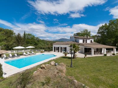 Photo for Villa des Bruisses - Villa for 8 people in Valbonne
