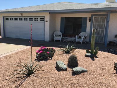 Photo for Nice, quiet house.  Walk to Starbucks and Safeway  in this Ahwatukee 55+