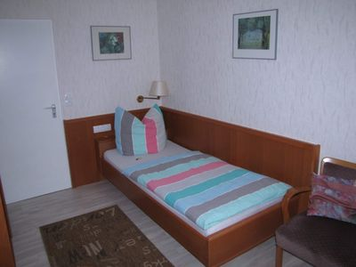 Photo for Single rooms without a balcony - Hotel Garni Pension Zur Rose