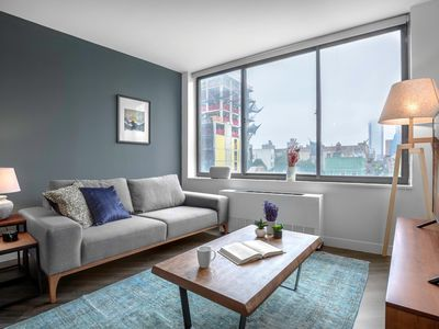 Photo for Rad East Village 1BR w/ Gym, Doorman + Roof deck by Blueground
