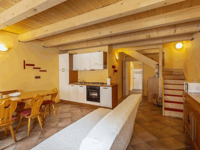 Photo for Bright and cozy apartment located in the Valbruna area with views of the mountains and the forest!