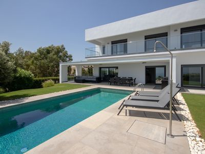 Photo for Luxury Villa with Sea View, Private Pool and Beautiful Gardens.