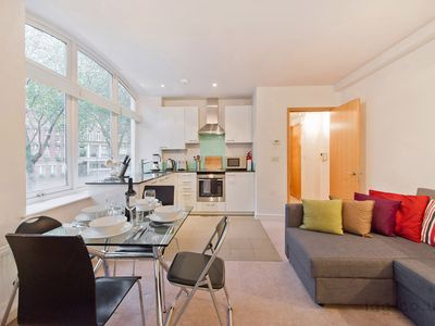 Photo for Apartment 2, Alfred Place, Central London