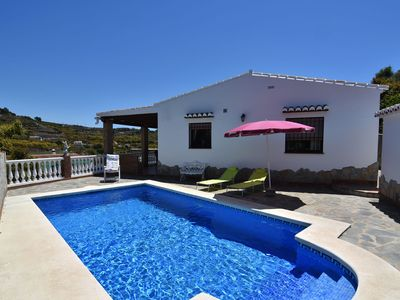 Photo for Very comfortable rural villa with private pool in Nerja