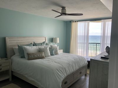 Photo for Beautifully appointed oceanfront condo (non-drive beach, pool/spa)