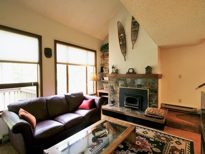Photo for Snowater Condo #80-2 Story Deluxe Condo Sleeps 4 Close to Community Amenities!