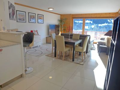 Photo for Apartment Les Cîmes in Gryon - 4 persons, 2 bedrooms