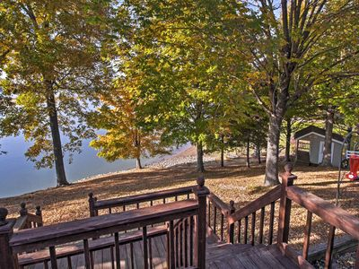 Photo for Cadiz House w/ Waterfront Deck on Lake Barkley!