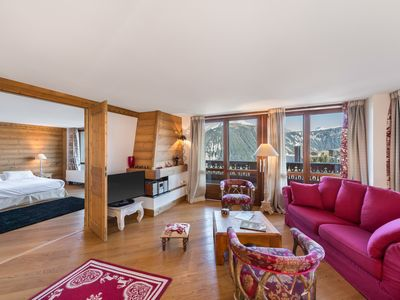 Photo for 3BR Apartment Vacation Rental in Courchevel 1850