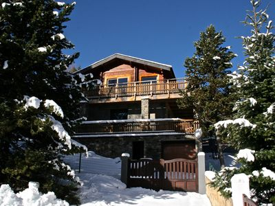 Photo for WARM CHALET IDEALLY LOCATED AND COMFORT,