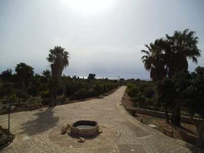 Photo for Villa dipped in an olive grove 1.5 km from the free beaches