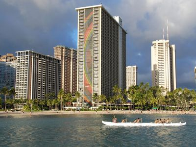 Photo for 2 Story Penthouse 3 Bed, 3 Bath Ocean View - Lagoon Tower HGVC Hawaiian Village