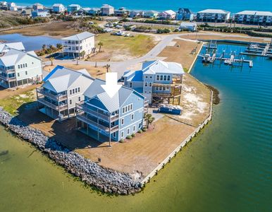Photo for My Blue Heaven: 4 BR / 3 BA soundfront house in Topsail Beach, Sleeps 9