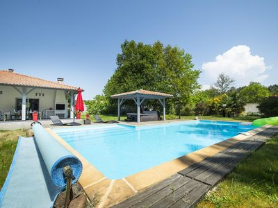 Photo for Villa Messanges in peace. Beaches, swimming pool, jacuzzi