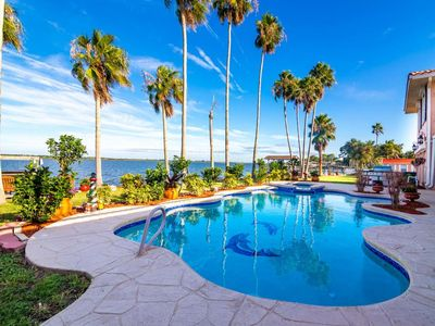 Photo for Mediterranean Waterfront Mansion, Perfect for Families!