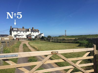 Photo for Holiday Cottage With Huge Sea And Beach Views