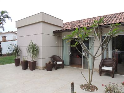 Photo for Marvelous House with Pool and Gourmet Area in Gated Community