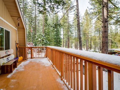 Photo for Charming alpine cabin w/a family-friendly style, close to hiking, skiing & more