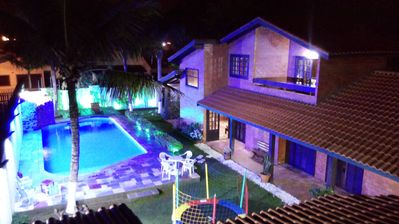 Photo for RENT BEACH HOUSE WITH SWIMMING POOL AND CASCADE WITH PLAYGROUND 11 976951457