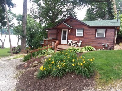 Photo for Peaceful Lakefront Cottage... Relaxation?  Romantic escape?  Fishing getaway?