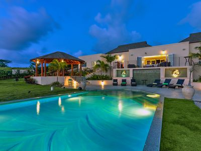 Photo for Modern 7 bedroom villa with jacuzzi and private pool