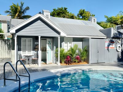 Photo for Romantic Retreat- Cottage at Pool, Pvt. Spa- 1/2 block from Duval Street
