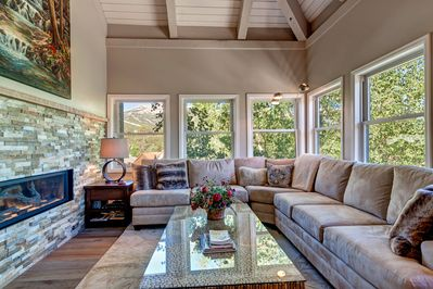Views of every mountain. Featured in Houzz newly remodeled