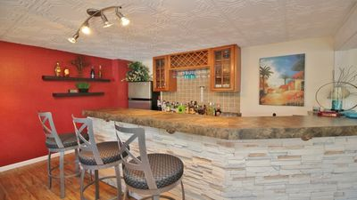 Photo for BEST 5BR @ the Lake! Huge Dock, Views, Bar! Best location! This has it all!