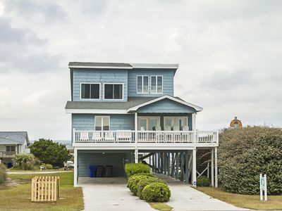 Photo for Blue Water Retreat: 5 Bed/4 Bath Ocean View Home with Elevator, Screened Porch and Covered Porch