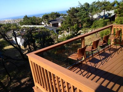 Photo for 3rd night FREE: New, custom-designed, ocean view 'Treehouse'