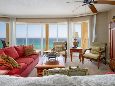 Photo for Gulf Front Living Room AND Master Suite! SLEEPS 8!
