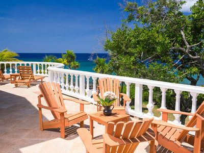 Photo for Spacious ocean front home perched on the point, spectacular seaviews and sunsets