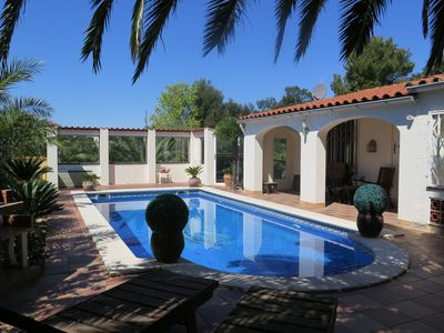 Photo for lovely detached villa with swimmingpool