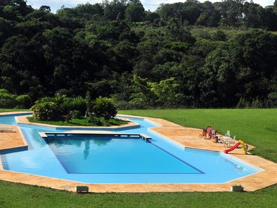 Photo for SPECTACULAR SITE !! 10 suites, pool, barbecue, chapel and lakes