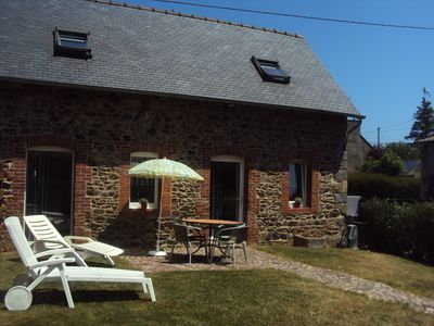 Photo for Small farmhouse renovated in calm 5mns beaches ST QUAY BINIC ETABLES near BREHAT