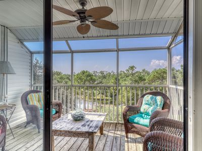 Photo for NEW LISTING! Waterfront condo near the beach w/ water views & shared pool!