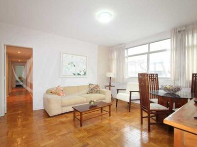 Photo for Beautiful apartment, 3 bedrooms, 2 blocks from the beach of Leblon on the border of Ipanem