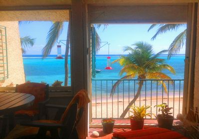 Your view from Salty Toe's and Sandy Kisses