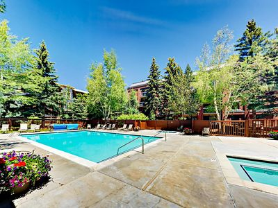 Pool - This rental includes access to luxe community amenities, like an outdoor pool -- open year-round.