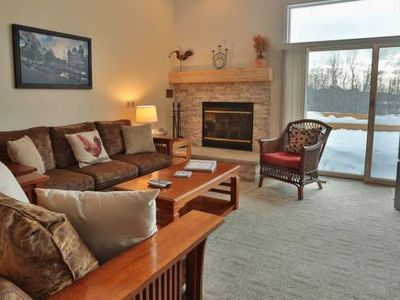 Close to Skiing, Golf, Lake Michigan. Trout Creek Condo #94 - 3 Bedroom Loft.