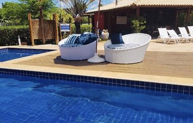 Photo for First floor apartment (privacy) in Itacimirim Beach