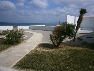 Photo for Large house on the water 35 km from Tunis