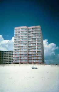 Condo as Seen From the Beach