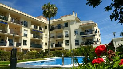 Photo for NEW WITH POOL AND SEE VIEW PUERTO BANUS AREA