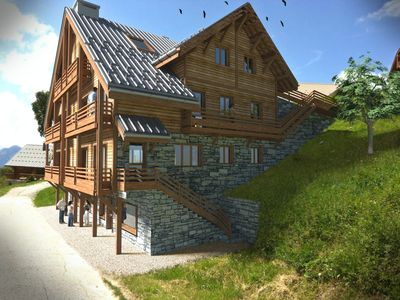 Photo for APARTMENT 8 CHALET 4 * PREMIUM close track CENTER STATION