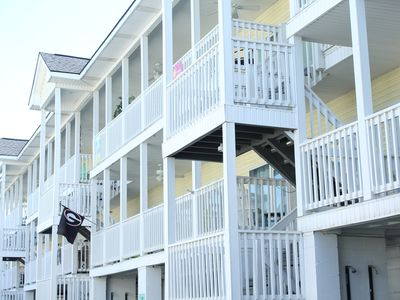Photo for STEPS FROM THE BEACH!  Southbeach on Tybee Island