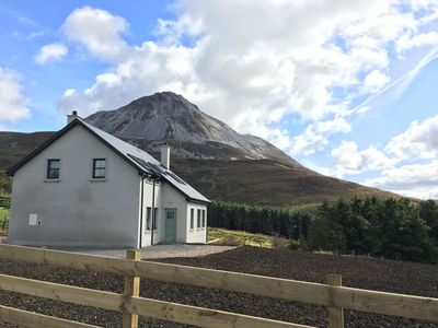There is 1/2 an acre of private gardens and the mountain on your doorstep
