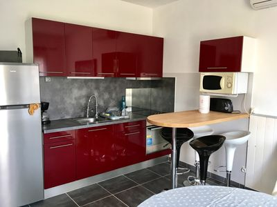 Photo for 1BR Apartment Vacation Rental in Port-la-Nouvelle, Occitanie