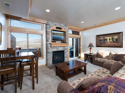 Photo for Lakeside 72A- Snowbasin Lodging  Beautiful Ogden Valley Condo